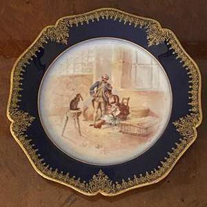 Lot # 93 Limoges Decorative Plate