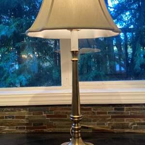 Lot # 103 Brass Lamp