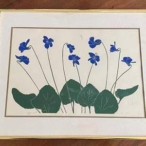 Lot # 112 Floral Painting, Artist Signed & Numbered