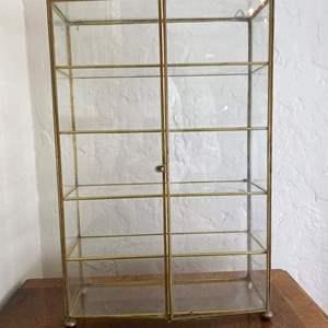 Lot # 120 Small Glass Curio Cabinet
