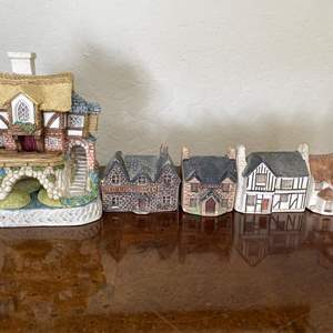 Lot # 122 Lot of Philip Laureston UK English Cottages & David Winter