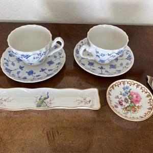 Lot # 147 Lot of England China - Two Tea Sets, etc