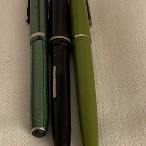 Lot # 149 Lot of 3 Fountain Pens