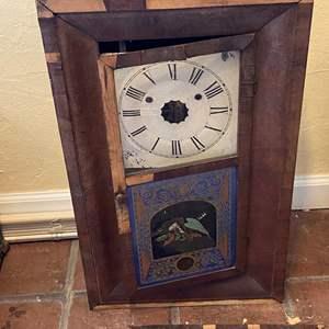 Lot # 191 New Haven Clock Thirty Hour - Needs Repair