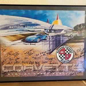 Lot # 192 National Corvette Museum Print