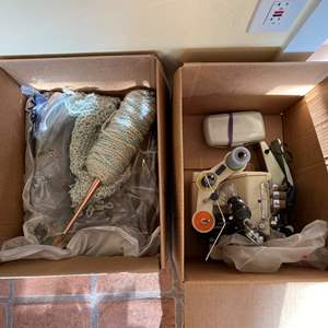 Lot # 198 Baby Lock Sewing Machine with Accessories UN-TESTED