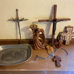 Lot # 231 Lot of Religious Items and Collectibles