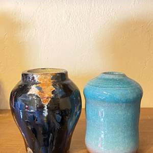 Lot # 235 Lot of 2 Pottery Vases