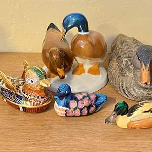 Lot # 252 Lot of Duck Figurines