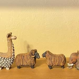 Lot # 254 Lot of Animal Figurines