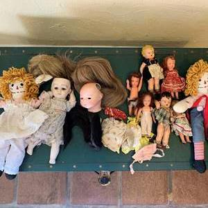 Lot # 273 Lot of Antique and Vintage Dolls