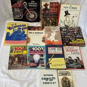Lot # 298 Lot of Pop Culture Books
