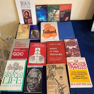 Lot # 300 Lot of Religious Books