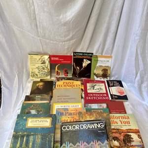 Lot # 301 Lot of Art Books