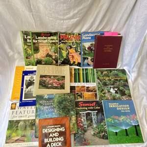 Lot # 302 Lot of Garden Books