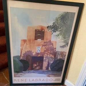 Lot # 305 Rene Labrado Poster