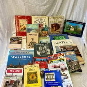 Lot # 307 Lot of Travel Books