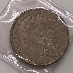 Lot # 32 Morgan Dollar 1921
