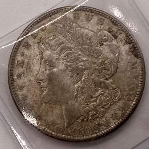 Lot # 37 Morgan Dollar 1890