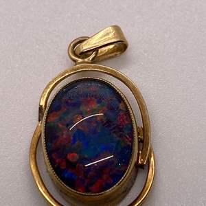 Lot # 53 14K Opal Pendant