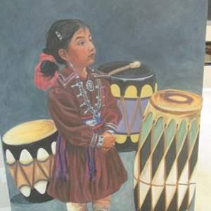 26-Native American Style Art Work