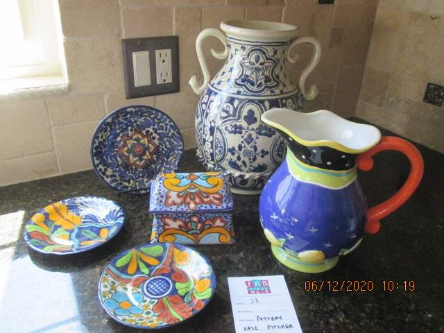 33-Colorful Serving Pieces, 6 Items (main image)