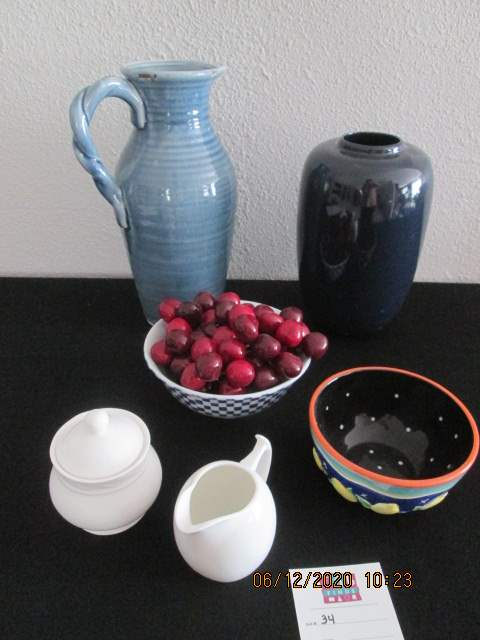 34-Colorful Serving Pieces, 6 Items (main image)