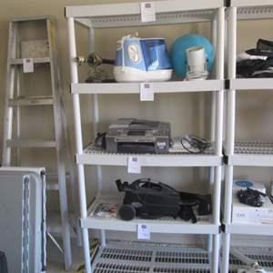 68-6' PVC Shelf Unit
