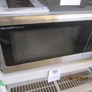90-Sharp Microwave Oven #SMC 1132CS, Works