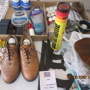 102-Golf Shoes ( Size 7) + Miscellaneous Items