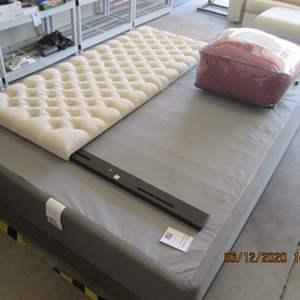 125-Frame, Box Spring, Headboard & Comforter