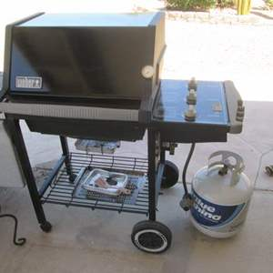 3- Weber Gas Grill - Works