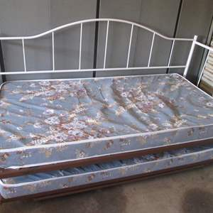 135-Trundle Bed, Very Clean