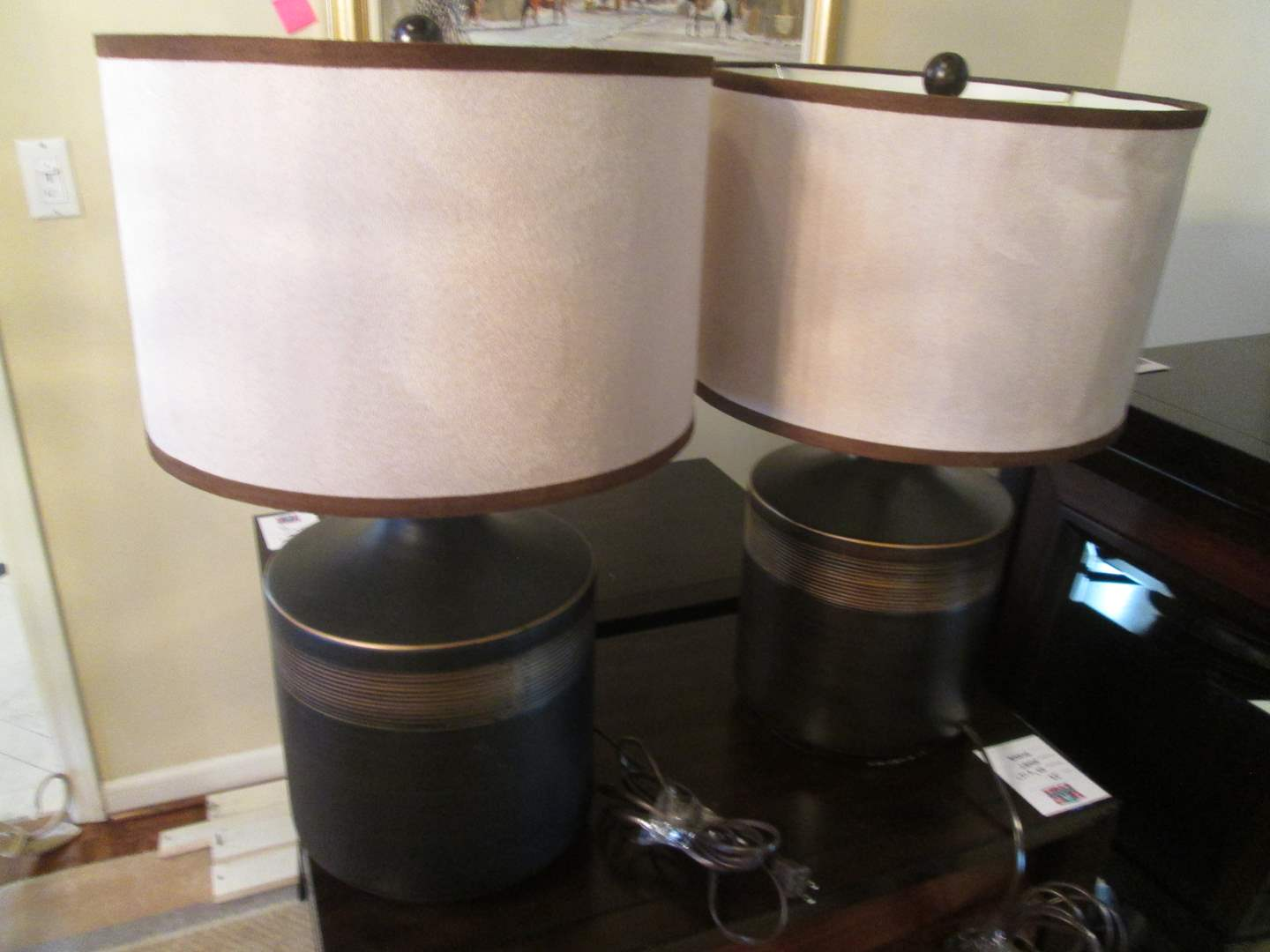 Lot # 40 - Pair of Table Lamps (main image)