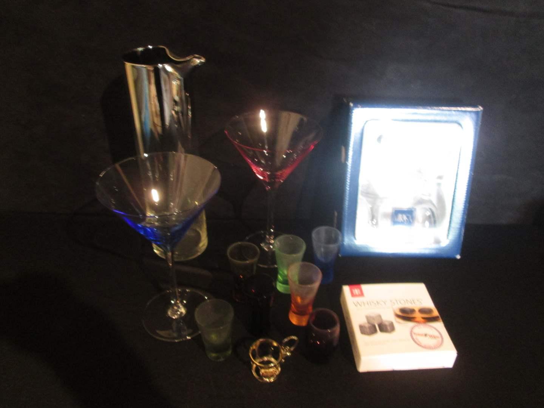 Lot # 67 - Liquor & Martini Items (main image)