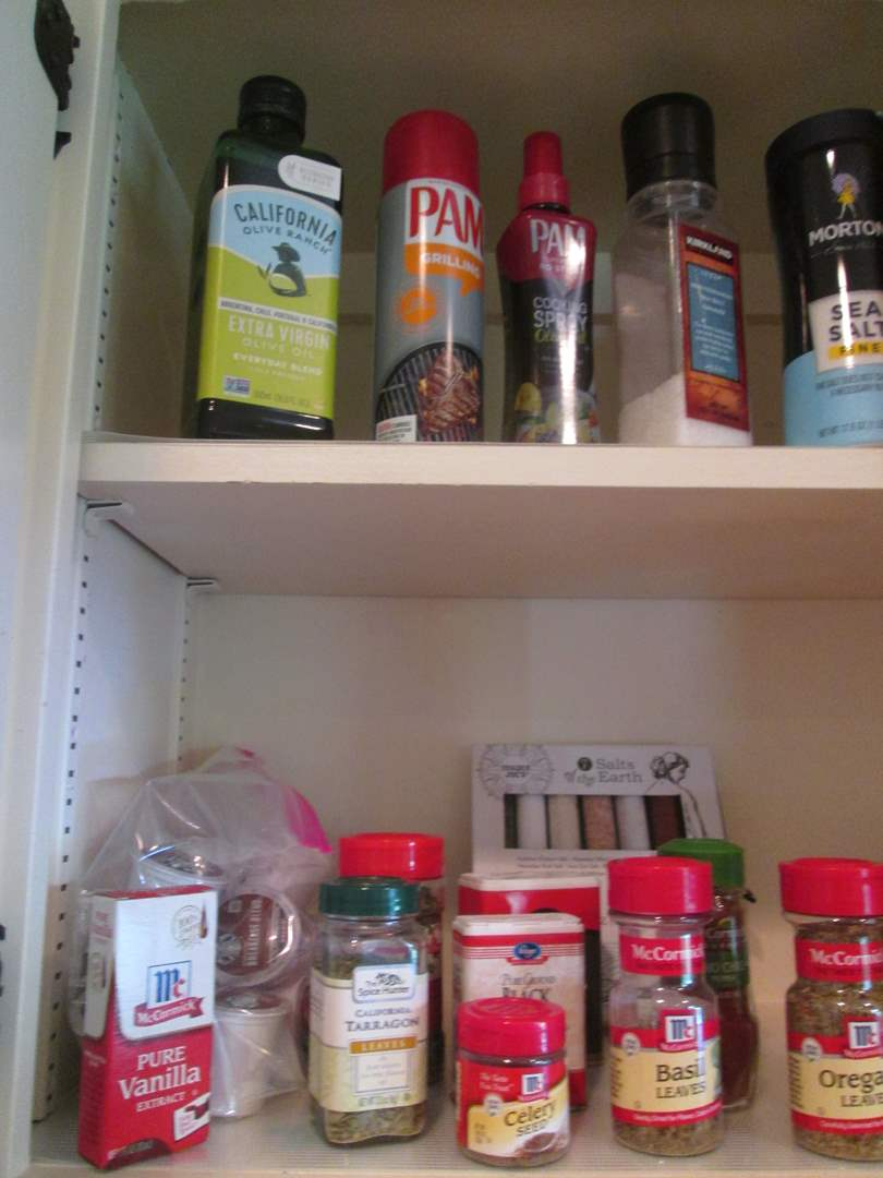 Lot # 91 - Spices & Pantry Items (main image)