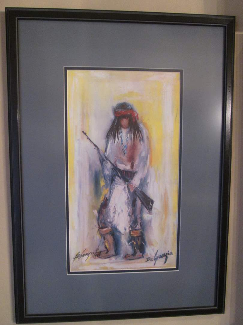 Lot # 99 - DeGrazia Art, Double Signed (main image)