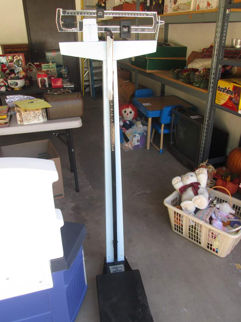 Lot # 140 - Health-O-Meter Doctor's Scale (main image)