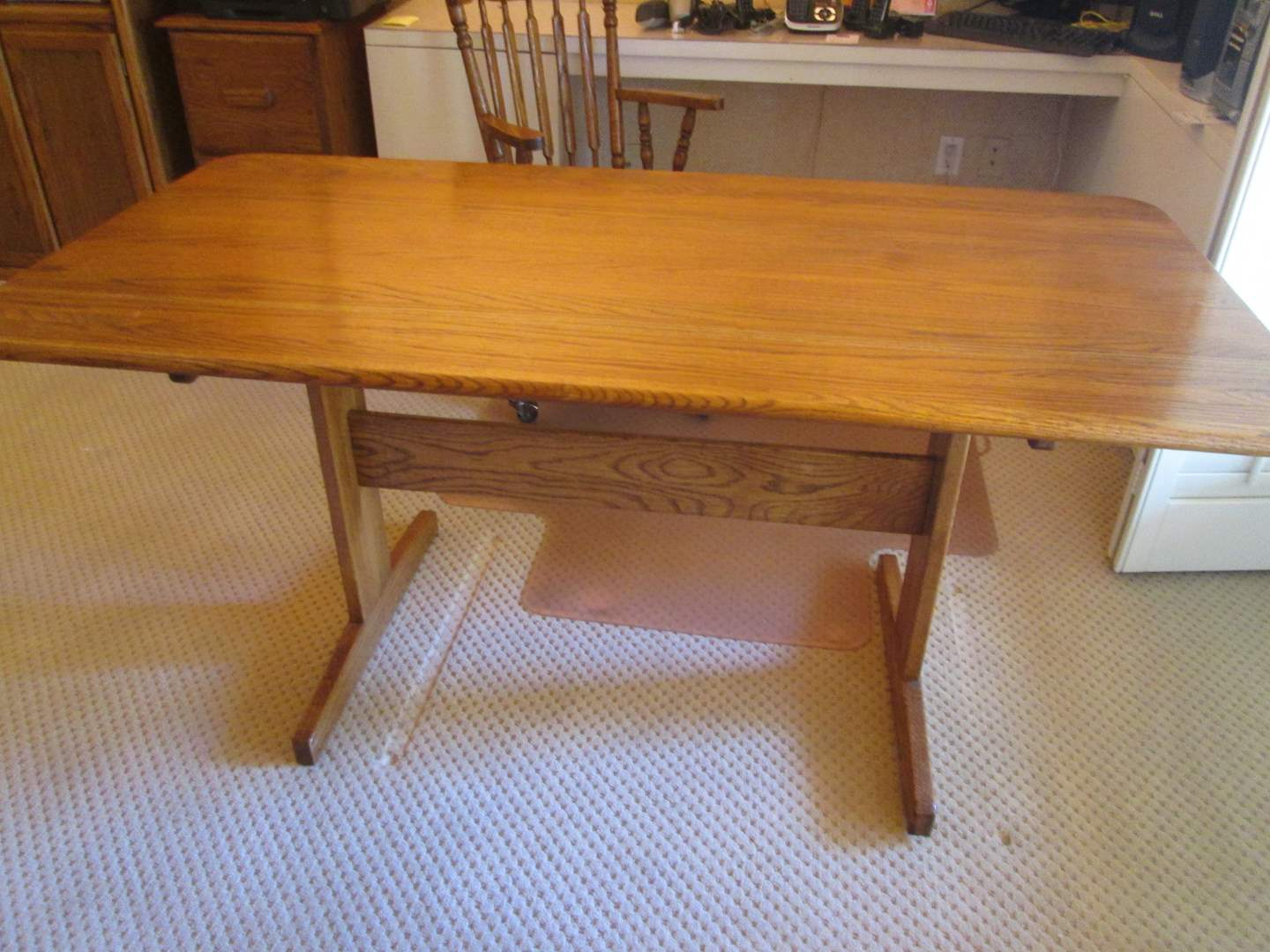 Lot # 195 - Office Desk or Table (main image)