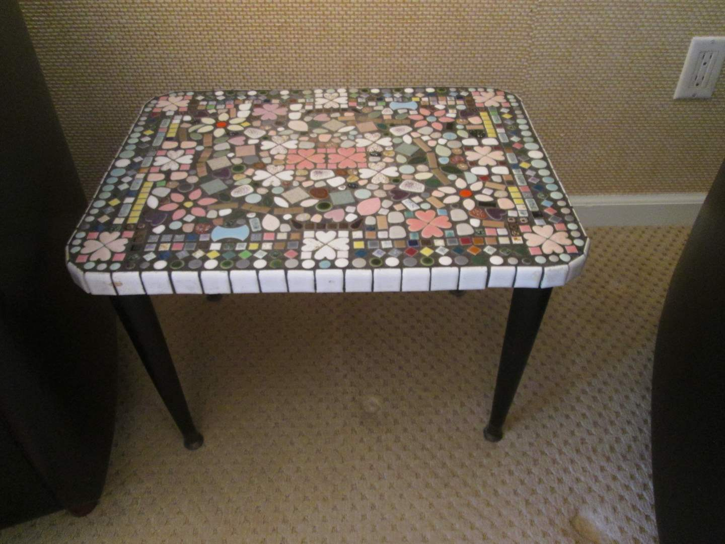 Lot # 197 - Mosaic Design Accent Table (main image)