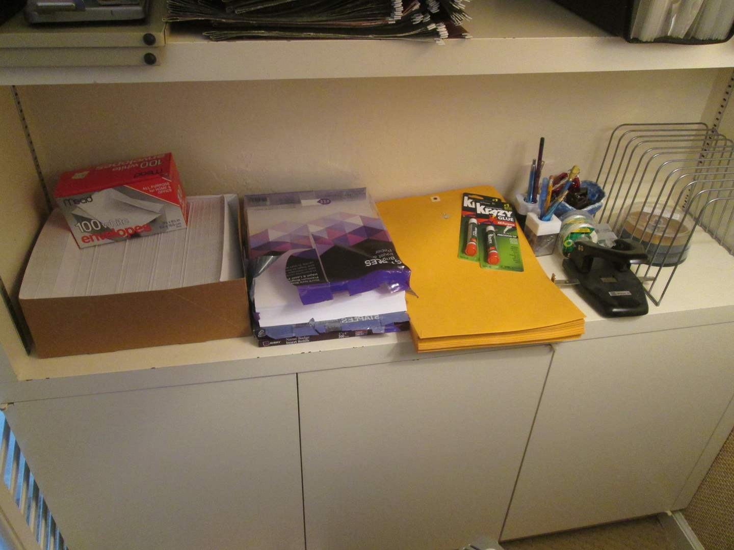 Lot # 198 - Assorted Office Supplies (main image)