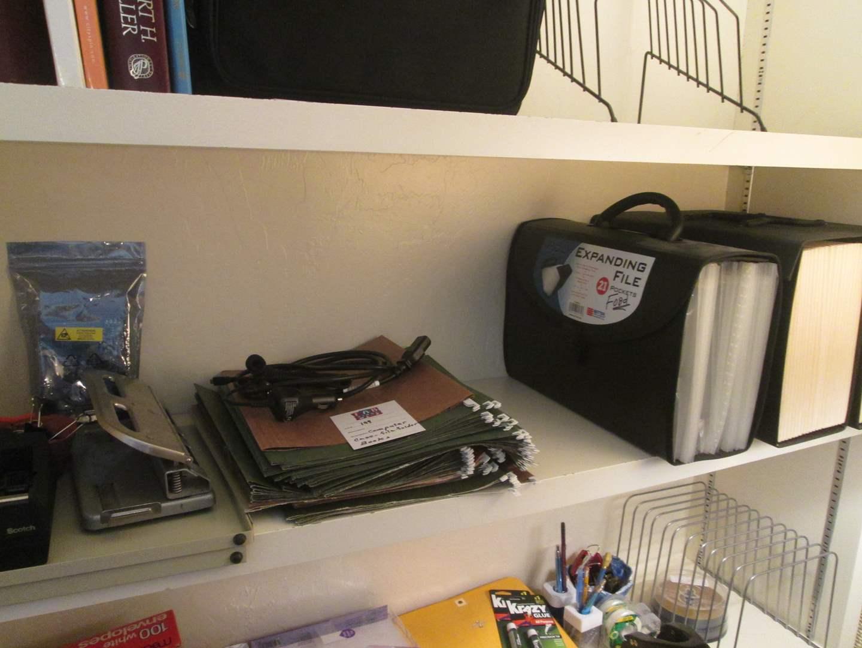 Lot # 199 - Computer Case & File Folders (main image)