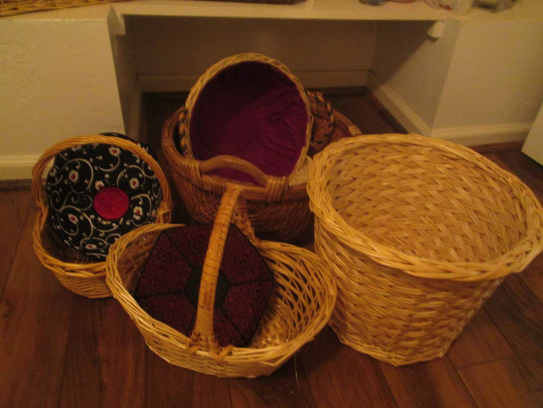 Lot # 241 - Baskets (main image)
