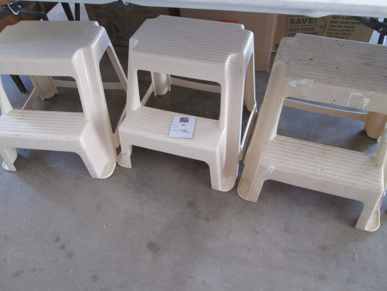 Lot # 180 - 3-Step Stools (main image)