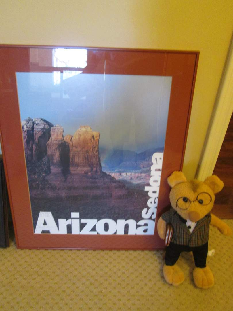 Lot # 261 - Personalized Sedona Poster + A Cute Mouse! (main image)
