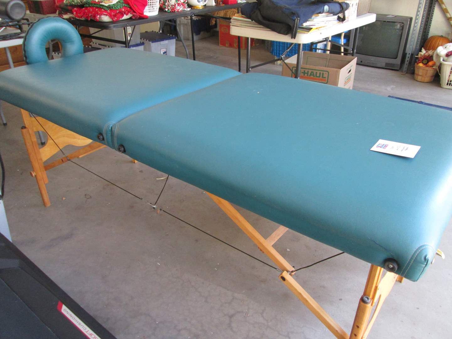 Lot # 224 - 6' Massage Table Living Earth Great Condition (main image)
