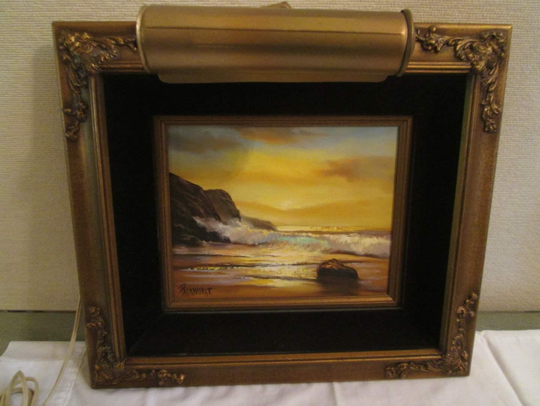 Lot # 284 - Framed Oil Painting by Violet Parkhurst, 1979 (main image)