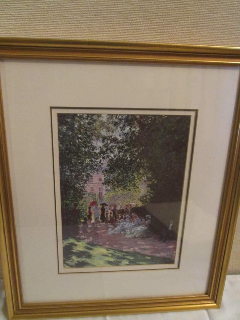 Lot # 285 -  Monet Print (main image)