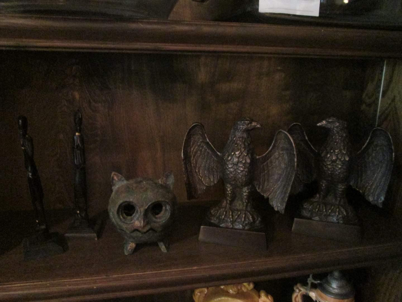 Lot # 239 - Eagle Bookends (main image)