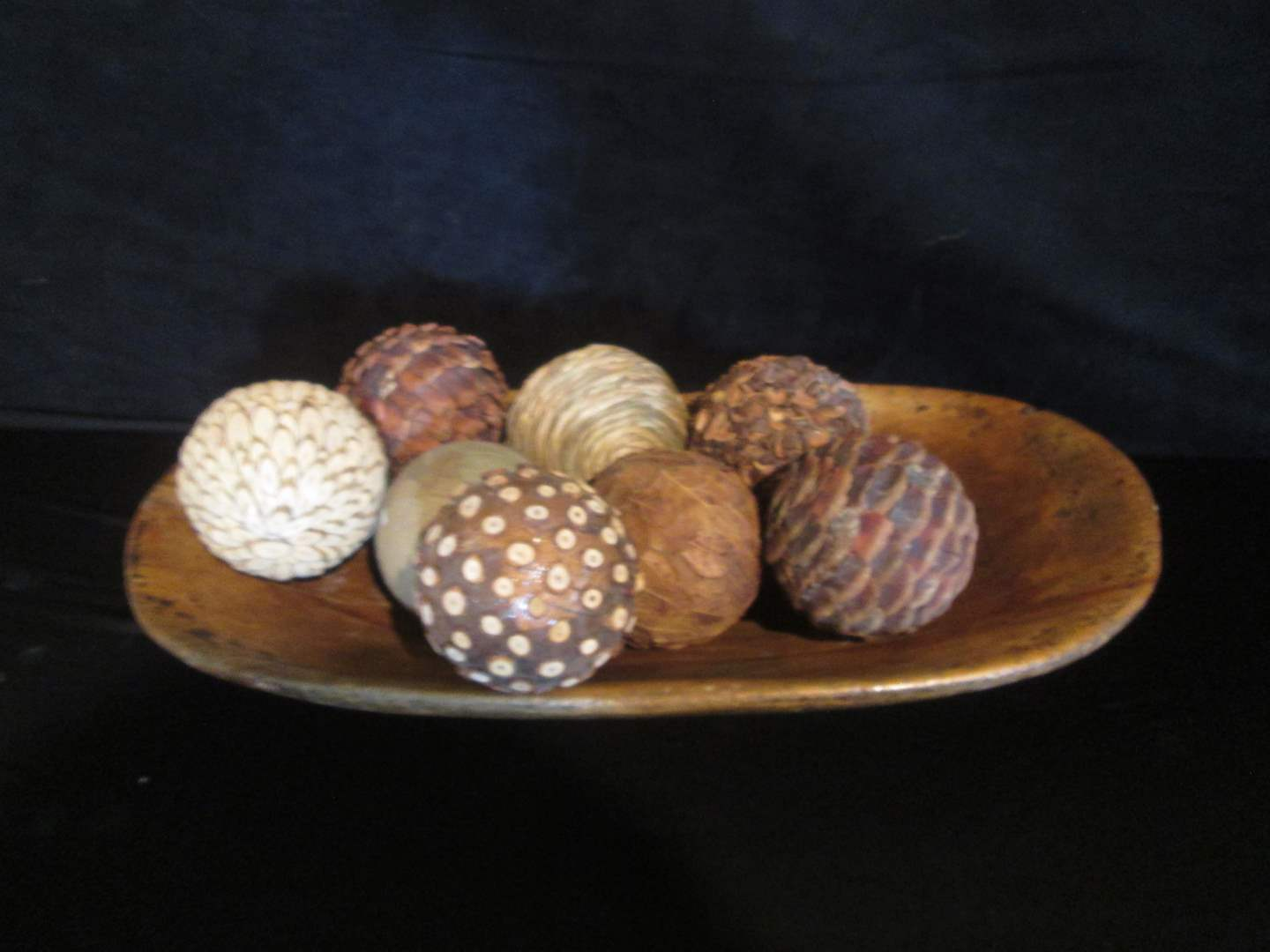 Lot # 354 - Table Top Accessory in Wooden Bowl (main image)